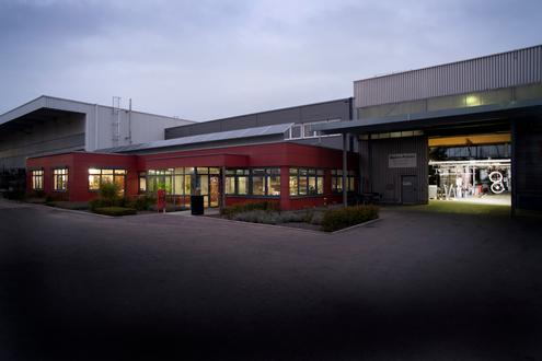 Der Firmensitz von Bader Pulverbeschichtung liegt in Aalen-Fachsenfeld