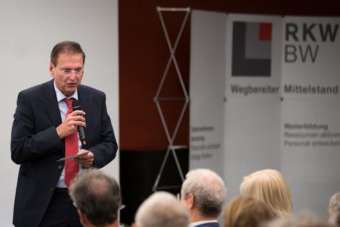Verabschiedung Albrecht Fridrich beim RKW Forum 2018